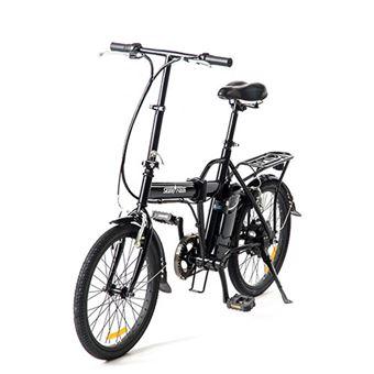 Bicicleta Elétrica Skateflash Folding E-Bike - Preto
