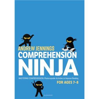 Comprehension ninja for ages 7-8