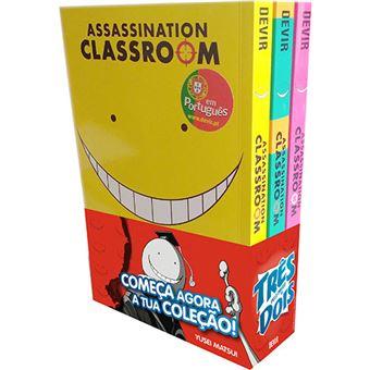 Assassination Classroom - Pack 1, 2 e 3