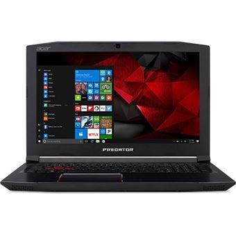 Computador Portátil Gaming Acer Predator Helios 300 PH315-51-75TE | i7-8750H | 8GB | GeForce® GTX 1050Ti