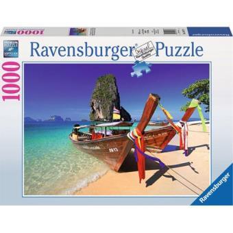 Puzzle Caribbean Boats (1000 Peças)