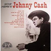 Now Here's Johnny Cash - LP Red Vinil