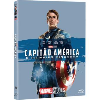 Capitão América: O Primeiro Vingador - Capa de Colecionador - Blu-ray