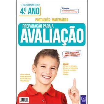Preparação Para a Avaliação: Português-Matemática - 4º Ano