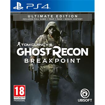 Tom Clancy's Ghost Recon Breakpoint - Ultimate Edition - PS4