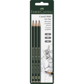 091f2ed5f2 Lápis de Grafite Faber-Castell 9000 4B