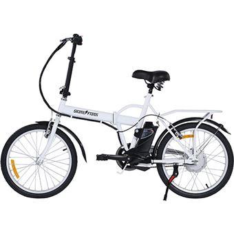 Bicicleta Elétrica Skateflash Folding E-Bike - Branco
