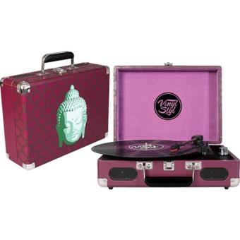 Vinyl Styl Groove Portable 3 Speed Turntable (Buddha)