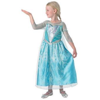 Disfarce Elsa DLX (Tamanho M 5 a 7 anos)