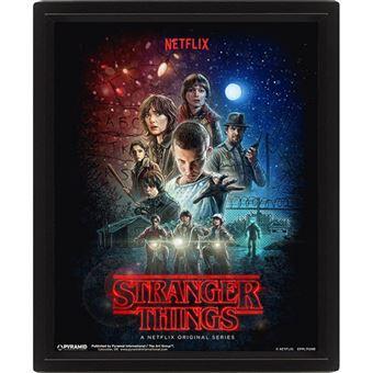 Poster 3D Lenticular Stranger Things - One Sheet