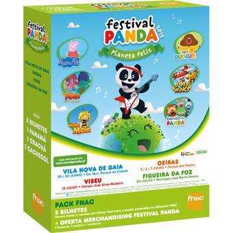 Fã Pack Fnac Festival Panda 2019 | Preço: 45.5€ Pack + 3.36€ Custos de Operação