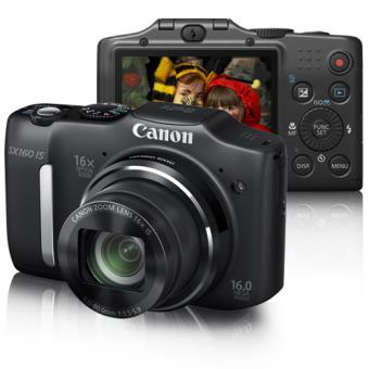 Canon PowerShot SX160 IS Preta