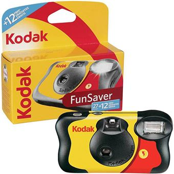 Câmera Descartável Kodak Fun Saver - 27 + 12 fotos