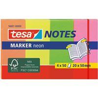 Separadores Adesivos Tesa Notes Marker - 4 Blocos