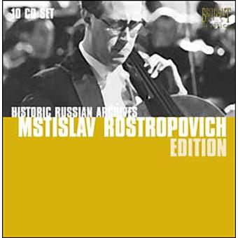 VARIOS-HISTORIC RUSSIAN ARCHIV(10CD