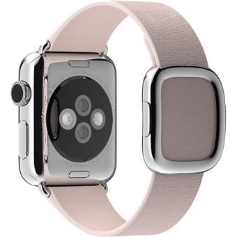 Bracelete Pele Apple para Watch 38mm - Small - Rosa Claro