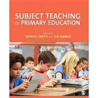Subject teaching in primary educati