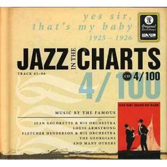 Jazz in the Charts 4 - Yes Sir, That´s My Baby 1925-1926