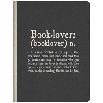 Caderno Pautado Photo - Booklover A5-B5