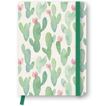 Caderno Liso e Pontilhado TeNeues Cactus A5