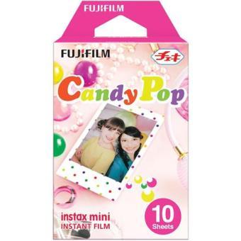 Fujifilm Carga ColorFilm Instax Mini CandyPop 10x Folhas