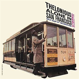 Thelonious Alone in San Francisco - LP 12''