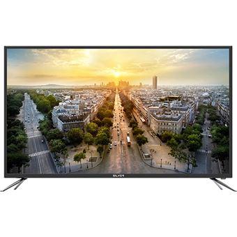 """Smart TV Android Silver 50"""" 4K Ultra HD LED LE410884 127cm - Preto"""