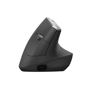 Rato Wireless Logitech MX Vertical Advanced Ergonimic Preto