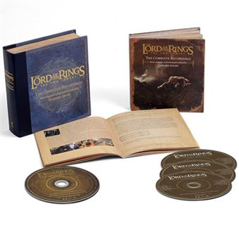BSO The Lord of The Rings: The Two Towers - 3CD + Blu-ray