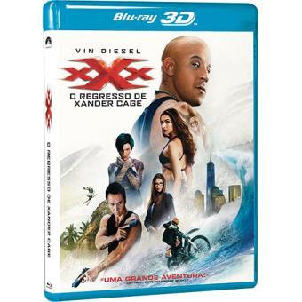 xXx: O Regresso de Xander Cage (Blu-ray 3D)