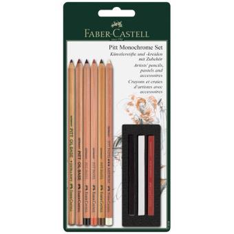 Lápis de Cor e Pastéis Faber-Castell Pitt Monochrome