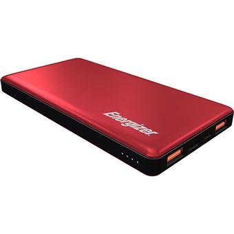 Power Bank Energizer UE10015PQ 10000mAh USB-C - Vermelho