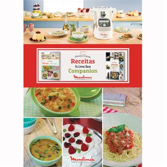Receitas Essenciais Moulinex Cuisine Companion - Exclusivo Fnac