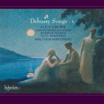 Debussy Songs Vol 4 - CD