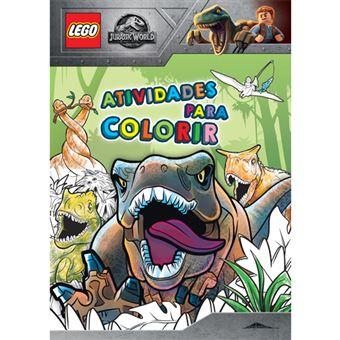 LEGO® Jurassic World: Atividades para Colorir