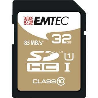 Emtec Cartão SDHC Classe 10 Gold+ 85MB/s - 32GB