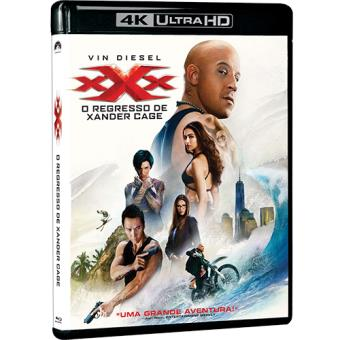 xXx: O Regresso de Xander Cage (4K Ultra HD + Blu-ray)