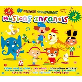 Músicas Infantis 2 (3 CD's)