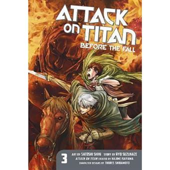 Attack on Titan - Before the Fall - Volume 3