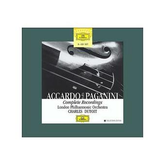 Accardo Plays Paganini | Complete Recordings (6CD)