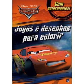 Carros Jogos E Desenhos Para Colorir Disney Compra Livros Na