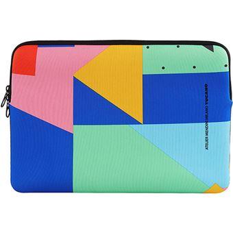 Sleeve Tucano Shake Second Skin Mendini Design 14'' - Multicolor
