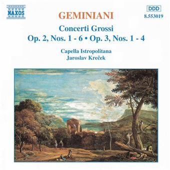 Geminiani: Concerti Grossi - Vol. 1 - CD