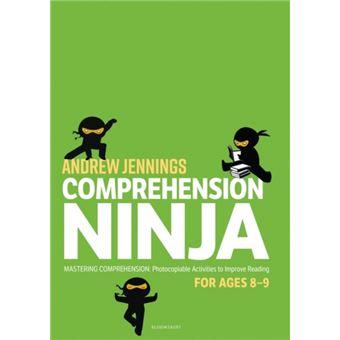 Comprehension ninja for ages 8-9