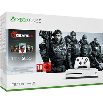 Pack Consola Xbox One S - 1 TB – Gears 5