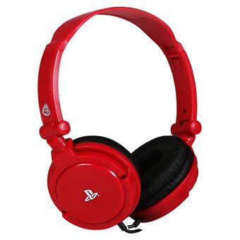 Auscultadores Gaming Pro 4.10 Vermelho - PS4