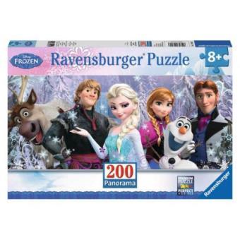 Puzzle Panorama Frozen - 200 Peças