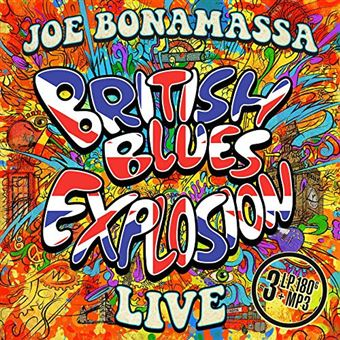 British Blues Explosion: Live - LP + MP3