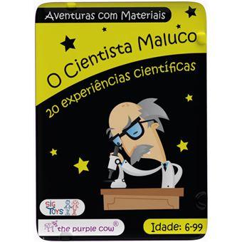 O Cientista Maluco: Aventuras com Materiais - Sig Toys