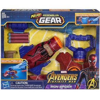 Nerf Assembler Gear Iron Spider - Hasbro